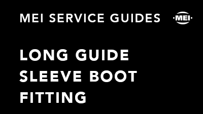 Long Guide Sleeve Boot Fitting