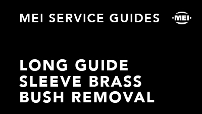 Long Guide Sleeve Brass Bush Removal