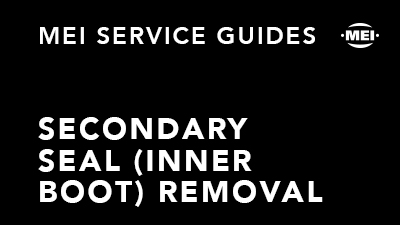 Secondary Seal Removal