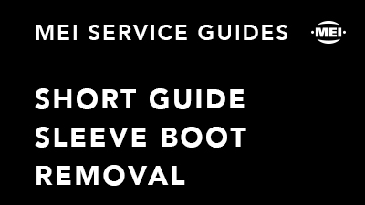 Short Guide Sleeve Boot Removal