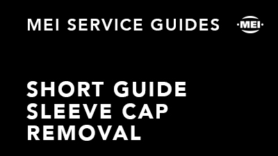 Short Guide Sleeve Cap Removal