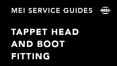 Tappet Head and Boot Fitting
